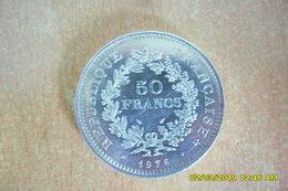 "50 Francs ""Type Hercule"" De 1976 En SUP. - France"