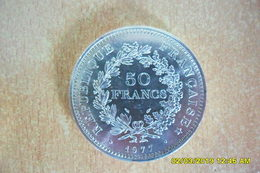 "50 Francs ""Type Hercule"" De 1977 En SUP.+ - France"