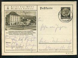 Deutsches Reich / 1938 / Bildpostkarte O > OBERSCHLEMA, Radiumbad (17255) - Ganzsachen