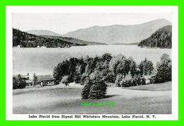 LAKE PLACID, NY - MINI-POSTCARD - LAKE PLACID, FROM SIGNAL HILL WHITEFACE MOUNTAIN - - NY - New York