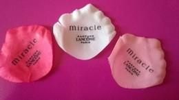 MIRACLE De  LANCOME 3  PETALES - Perfume Cards