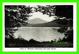 LAKE PLACID, NY - MINI-POSTCARD - VISTA OF WHITEFACE MOINTAIN AND LAKE PLACID - - NY - New York