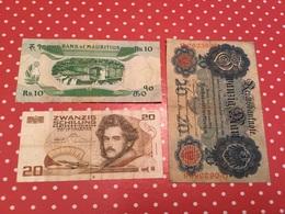 LOT DE 3 BILLETS Voir Le Scan - Alla Rinfusa - Banconote