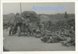 Campagne De France 1940 - Avance Allemande - Wehrmacht Im Vormarsch - Westfeldzug - Guerre, Militaire