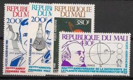 Mali - 1981 - Poste Aérienne PA N°Yv. 418 à 421 - Gagarine - Neuf Luxe ** / MNH / Postfrisch - Afrique