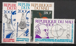Mali - 1981 - Poste Aérienne PA N°Yv. 418 à 421 - Gagarine - Neuf Luxe ** / MNH / Postfrisch - Afrika