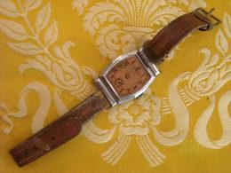 Carcasse Montre Bracelet Sans Marque , Pour Pièces - Montres Anciennes
