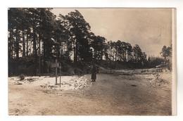 9264, FOTO-AK, WK I, Lettland, Dünen - Guerre 1914-18