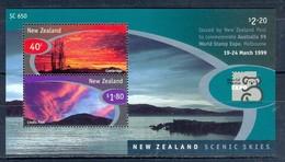 D34- New Zealand. Australia 99 World Stamp Expo. - Unused Stamps