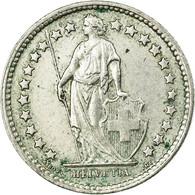 Monnaie, Suisse, 1/2 Franc, 1958, Bern, TTB, Argent, KM:23 - Suisse