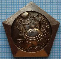 USSR / Badge / Soviet Union / RUSSIA / Space Luna-9  Soviet Automatic Interplanetary Station 1970 - Space