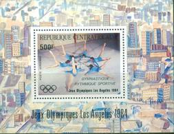 D42- Central African Republic. Sports. Los Angeles Summer Olympic Games 1984. - Central African Republic