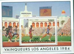 D43- Central Africa. Sports. Los Angeles Summer Olympic Games 1984. - Central African Republic