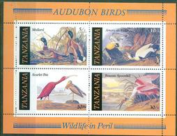 D44- Wild Life, Birds, Tanzania. - Tanzania (1964-...)