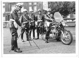 Liège Moto De Police  Radar Vitesse Grande Photo 24x18 - Cars