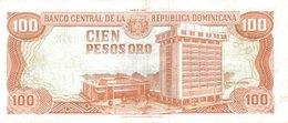 Dominican Republic  P.136a  100 Pesos 1991 Unc - Dominicana