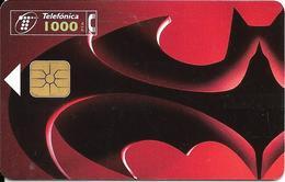 CARTE-PUCE-ESPAGNE-1997-GEM-FILM BATMAN And ROBIN-Utilisé-TBE - Cinéma
