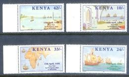 D58- KENYA 1998 FIRST VISIT OF PORTUGESE SHIPS. - Kenya (1963-...)
