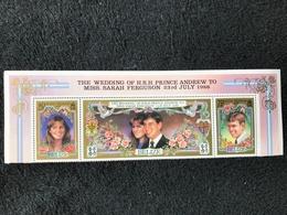 Belize Royal Wedding 1986 Strip Mint - Belize (1973-...)