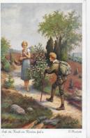 AK 0251  Herrfurth , O. - Sah Ein Knab Ein Röslein Steh' N / Künstlerkarte Um 1920 - Künstlerkarten