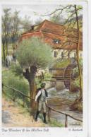 AK 0251  Herrfurth , O. - Das Wandern Ist Des Müllers Lust / Künstlerkarte Um 1920 - Künstlerkarten