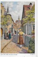AK 0251  Kubel , O. - Nun Leb Wohl , Du Kleine Gasse / Künstlerkarte Um 1920 - Künstlerkarten