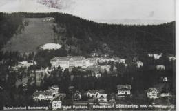 AK 0251  Schwimmbad Semmering - Hotel Panhans / Verlag Ledermann Um 1932 - Semmering