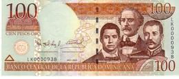 Dominican Republic  P.171d   100 Pesos 2004 Unc - Dominicana