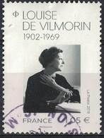 France 2019 Oblitéré Rond Used Louise De Vilmorin Y&T 5299 SU - 1910-... République