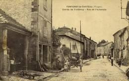 88 - FONTENOY LE CHATEAU ENTREE DU PAYS  / A 450 - Autres Communes