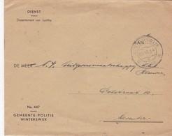 COMMERCIAL ENVELOPE; GEMEENTE POLITIE WINTERSWIJK. CIRCULEE 1948 WINTERSWIKJ - BLEUP - Switzerland