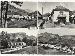 N 1286 GRESSE EN VERCORS   MULTIVUES - Otros Municipios