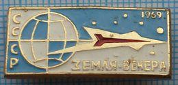 USSR / Badge / Soviet Union / RUSSIA / Space. The Program Earth-Venus. Satellite. 1969. - Space