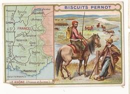 Publicité Biscuits Pernot Rhône (manque Le Coin Bas Gauche) - Advertising