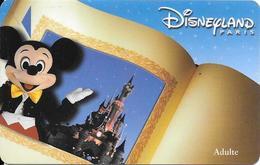 PASS--DISNEY-DISNEYLAND PARIS-2000-DONALD- ADULTE-V°NARBONI-01/08/MIC-VALIDE 1 JOUR-TBE - Toegangsticket Disney