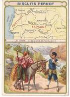 Publicité Biscuits Pernot Le Tage Espagne Portugal - Advertising