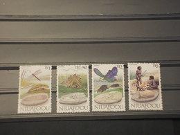 TONGA/NIUAFOOU - 1989 ORIGINI 4 VALORI - NUOVI(++) - Tonga (1970-...)