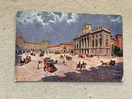 TORINO PIAZZA CASTELLO COL PALAZZO REALE - Palazzo Reale