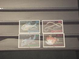 TONGA/NIUAFOOU - 1989 PESCI 4 VALORI - NUOVI(++) - Tonga (1970-...)