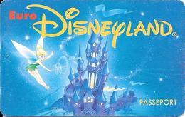 PASS-EURODISNEYLAND-1994-FEE CLOCHETTE-VGS-00059-COMITE D ENTREPRISE-TBE - Toegangsticket Disney