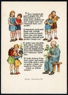 C6094 - TOP Glückwunschkarte  - Max Müller Karl Marx Stadt - DDR Grafik Künstlerkarte Spruchkarte Paul Gerhardt - Feiern & Feste