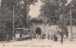 VARESE - SACRO MONTE - FERMATA ALLA 1^ CAPPELLA E GALLERIA - Varese