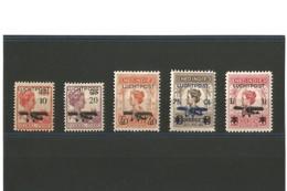 Indes Néerlandaises Poste Aérienne  N° 1 à 5 Neufs * - Nederlands-Indië