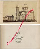 CDV-ALGERIE-Basilique Notre Dame D'Afrique Vers 1875 Photographie Boyer Rue Jénina à Alger - Photos
