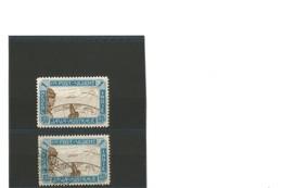 Indes Néerlandaises Poste Aérienne 1931  N°12  Un Ex Neuf* Et Un Ex Oblitéré - Nederlands-Indië