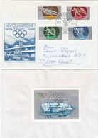 1984 SARAJEVO - DDR - MiNr: 2839-2842 Komplett + Block 74 - Winter 1984: Sarajevo