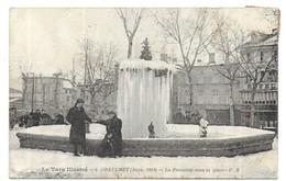 Graulhet (Janv. 1914) La Fontaine Sous La Glace - Graulhet