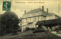 69 - COURS / CHATEAU RUE DE MARDORE / A 450 - Cours-la-Ville