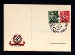 2393-GERMAN EMPIRE-AUSTRIA Occupation.MILITARY PROPAGANDA POSTCARD Wien.1938.WWII.DEUTSCHES REICH.Postkarte - Covers & Documents