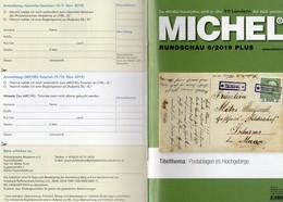 Rundschau MICHEL Briefmarken 6/2019-plus Neu 6€ New Stamps World Catalogue/magacine Of Germany ISBN 978-3-95402-600 - Tedesco